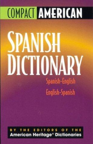 9780395962152: Compact American Spanish Dictionary: Spanish-English and English-Spanish (Spanish Edition)