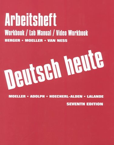 9780395962626: Arbeitsbuch: Workbook And Lab Manual And Video Workbook Seventh Edition