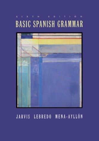 9780395962978: Basic Spanish Grammar