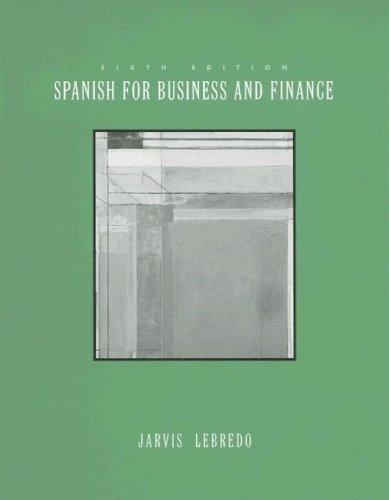 9780395963012: Spanish for Business and Finance