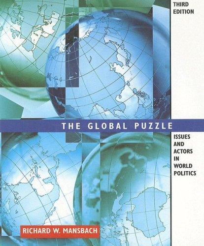 9780395963746: Global Puzzle: Issues and Actors in World Politics
