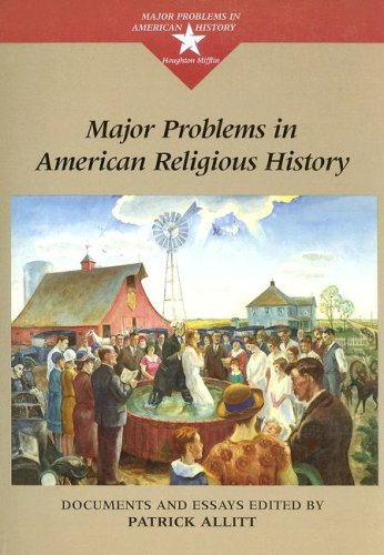 9780395964194: Major Problems in American Religious History (Major Problems in American History (Wadsworth))