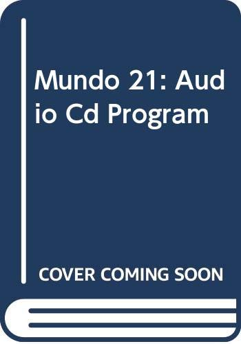 9780395964705: Mundo 21 Audio Cd Program, Second Edition