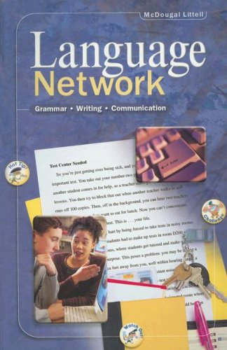 9780395967409: Language Network: Grammar, Writing, Communication, Grade 10