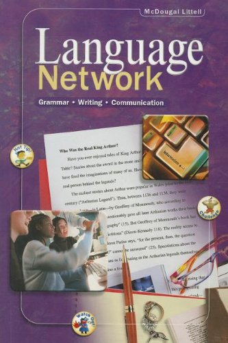 9780395967423: Language Network, Grade 12