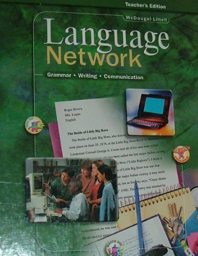 9780395967454: Language Network: Grammar � Writing � Communication - Grade 8 [Teacher's Edition]