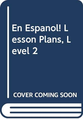 9780395967737: ¡En español!: Lesson Plans Level 2