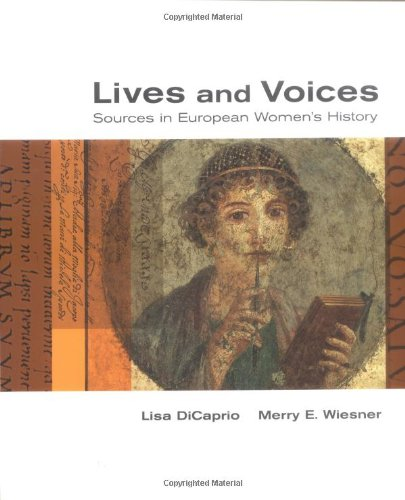 9780395970522: Lives and Voices: Sources in European Women's History