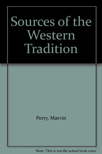 9780395975626: Sources of the Western Tradition