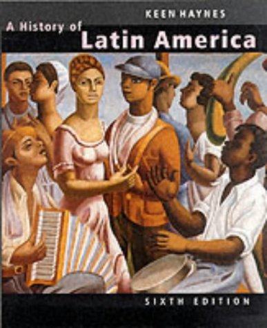 9780395977125: A History of Latin America, 6th edition (One volume complete edition)
