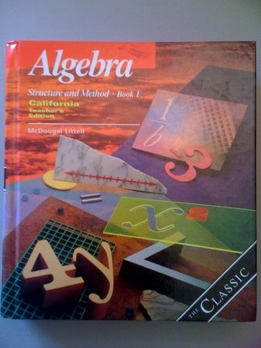 9780395977248: Algebra Structure And Method Book 1 (CA) (TE)