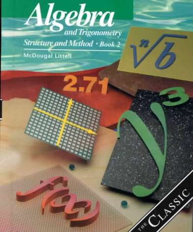 9780395977255: Algebra and Trigonometry: Structure and Method, Book 2