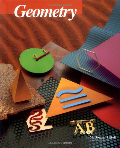 9780395977279: McDougal Littell Jurgensen Geometry: Student Edition 2000