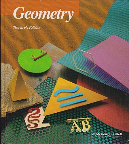 9780395977286: McDougal Littell Geometry TE