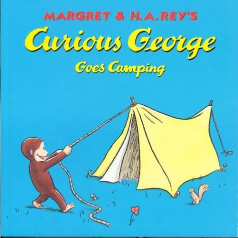 9780395978313: Curious George Goes Camping