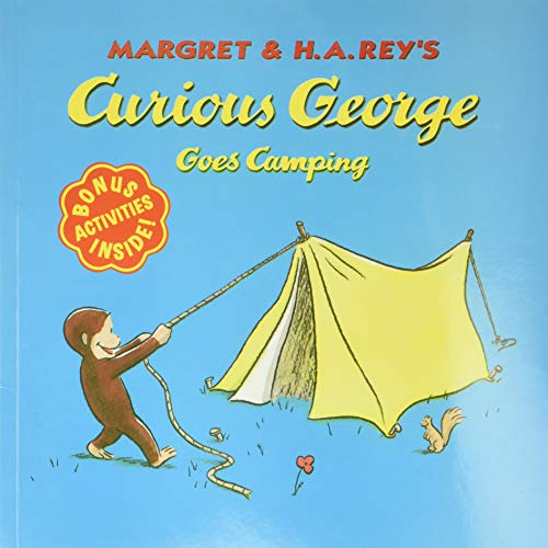 9780395978351: Curious George Goes Camping