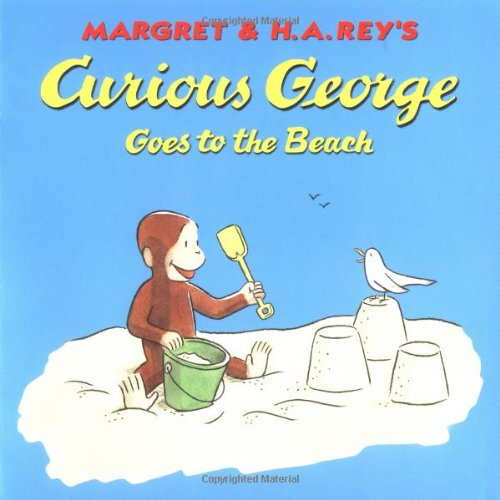 9780395978382: Curious George Goes to the Beach