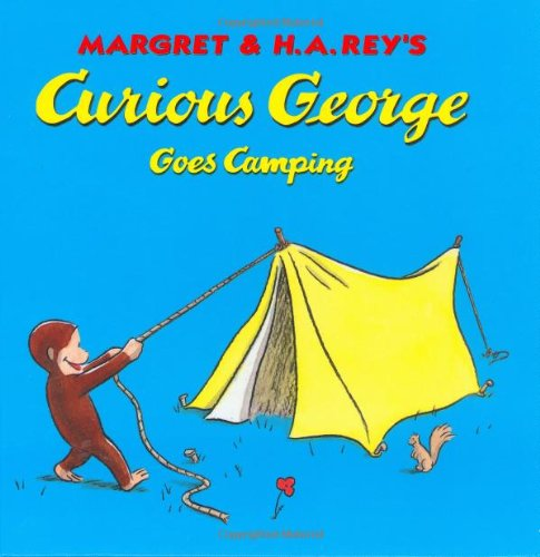 9780395978436: Curious George Goes Camping