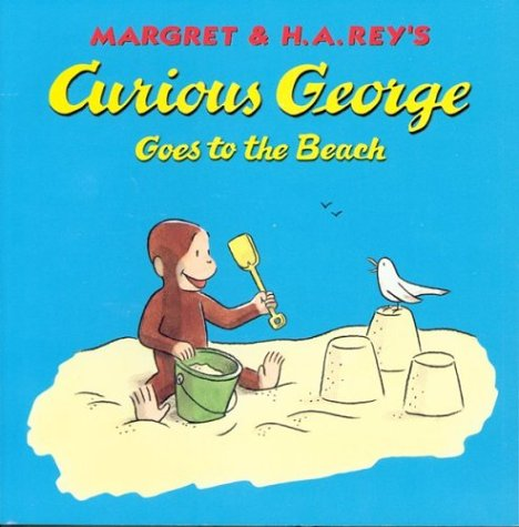 9780395978467: Curious George Goes to the Beach