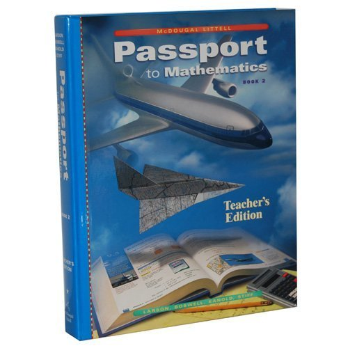 9780395978856: Passport to Mathematics Book 2 (Teacher's Edition)