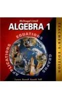 9780395978887: McDougal Littell Algebra 1