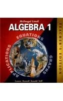 9780395978887: McDougal Littell Algebra 1, Teacher's Edition