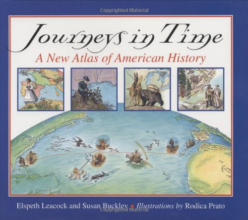9780395979563: Journeys in Time: A New Atlas of American History