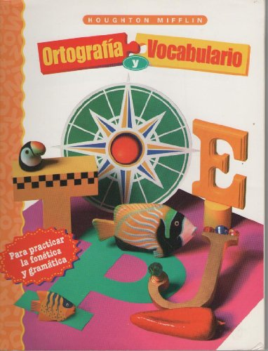 9780395979662: Ortografia Y Vocabulario de Houghton Mifflin, Grado 2 : Spelling and Language Arts Support for Second Language Learners, Grade 2