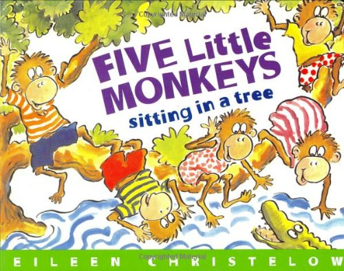9780395980330: Five Little Monkeys Sitting in a Tree