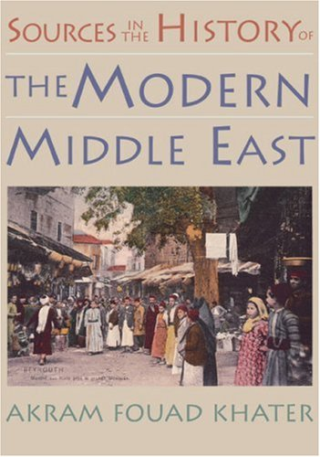 9780395980675: Sources in the History of the Modern Middle East