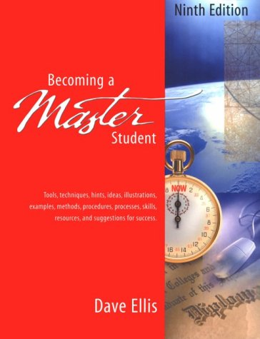 9780395981498: Becoming a Master Student