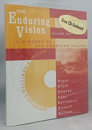 The Enduring Vision Essentials: Essentials (0395982332) by Boyer, Paul S.