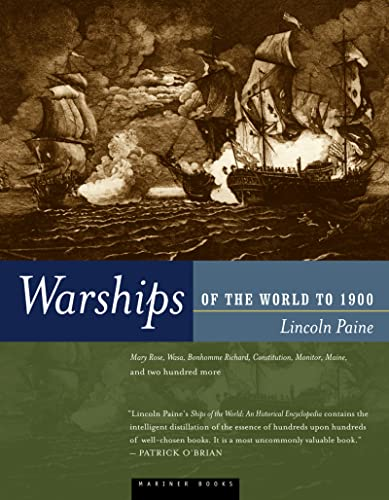 9780395984147: Warships of the World to 1900