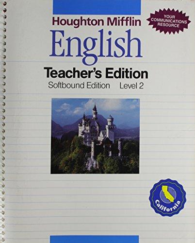 9780395984307: English: Teachers Edition Level 2 : California