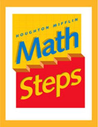 9780395985311: Houghton Mifflin MathSteps: Grade K, Student Book