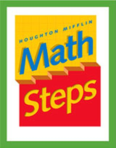 9780395985328: Math Steps: Student Edition Grade 1 2000