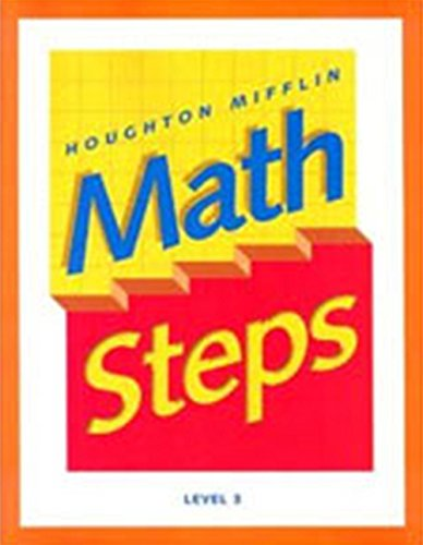 9780395985342: Math Steps: Student Edition Grade 3 2000