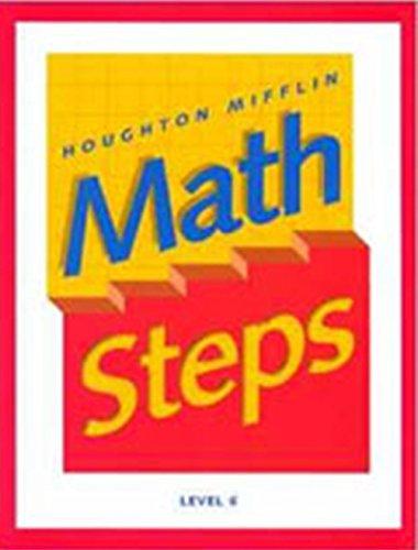 9780395985380: Math Steps: Student Edition Grade 6 2000