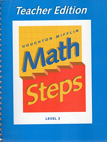 9780395985427: Houghton Mifflin Math Steps - Level 2 - Teacher Edition