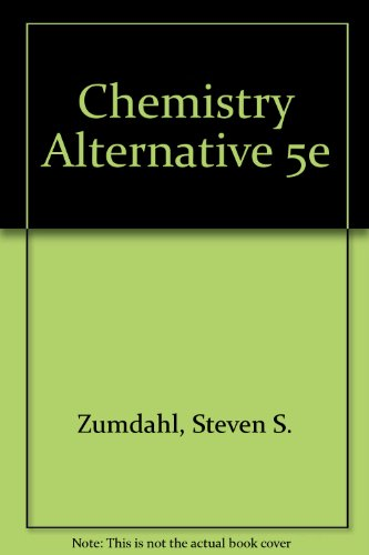 9780395985823: Chemistry: Alternate edition