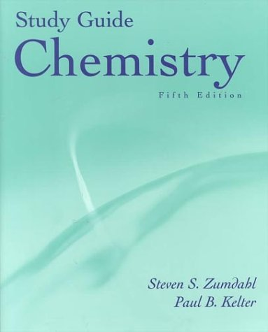 9780395985861: Chemistry Study Guide, Fifth Edition