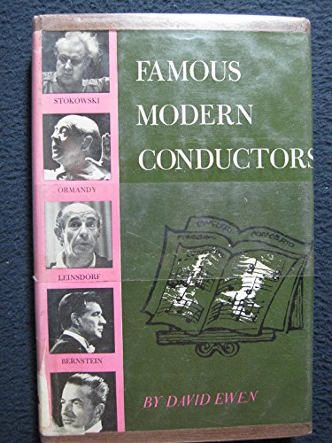 9780396054542: Famous Modern Conductors