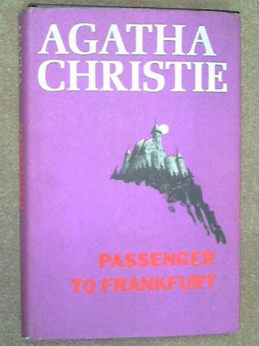 Passenger to Frankfurt: An Extravaganza (0396062350) by Agatha Christie
