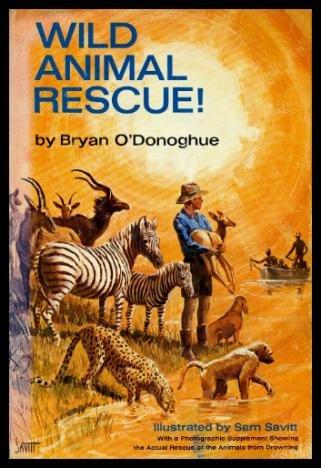 9780396063049: Wild animal rescue!