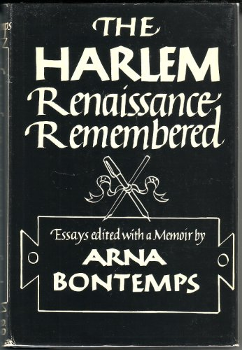 9780396065173: The Harlem Renaissance Remembered