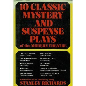 9780396067078: 10 Classic Mystery and Suspense Plays of the Modern Theatre