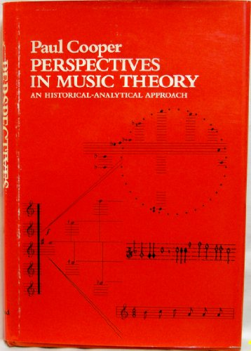 9780396067528: Perspectives in music theory;: An historical-analytical approach