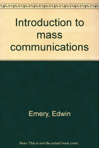 9780396067535: Introduction to mass communications