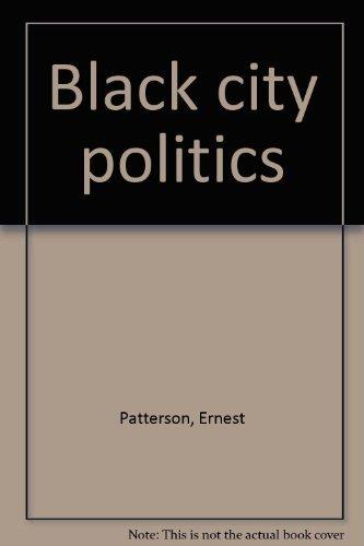 9780396069010: Black city politics