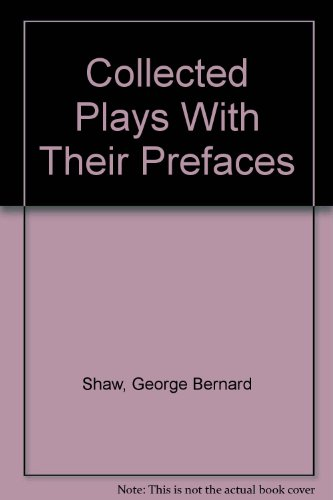 9780396071280: Collected Plays With Their Prefaces